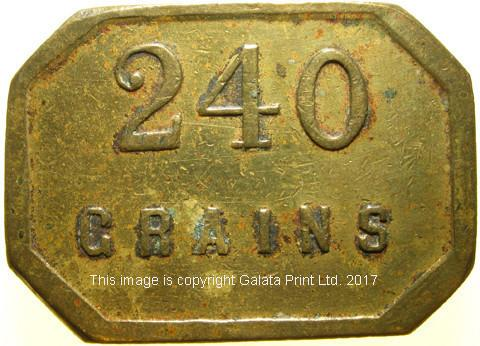 BULLION  WEIGHT,  Anon