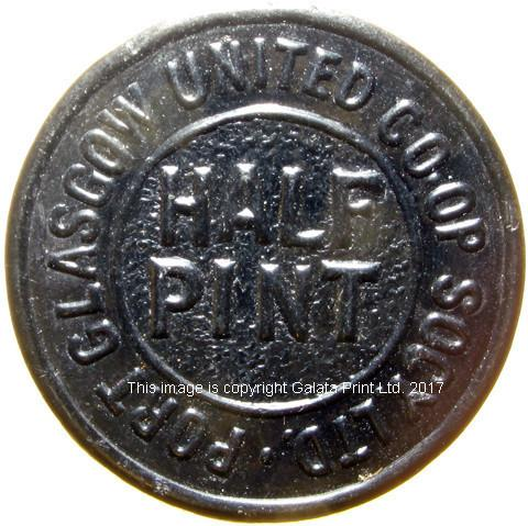Co-op token, Port Glasgow