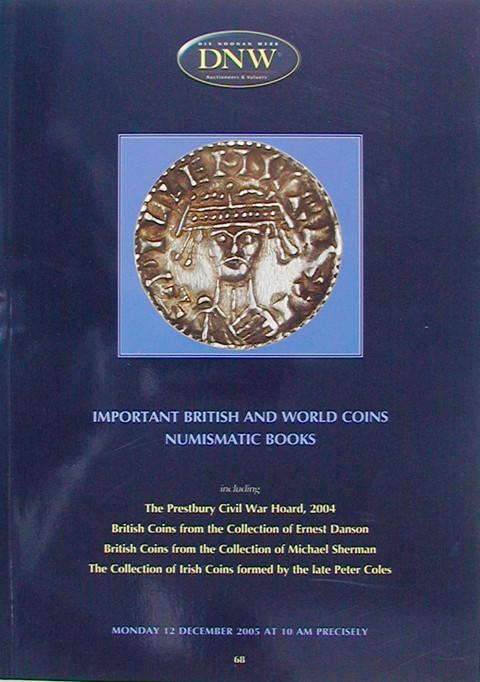 12 Dec, 2005.  DNW 68.  British and World Coins, etc..