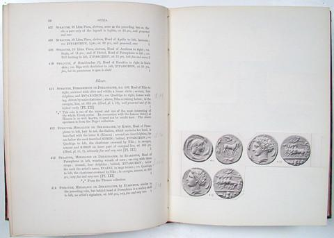15 June 1896  The Bunbury Collection of Greek Coins.