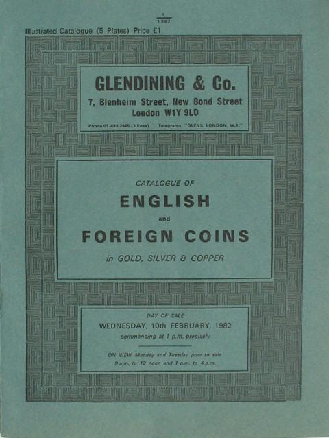 10 Feb, 1982 English and Foreign Coins.