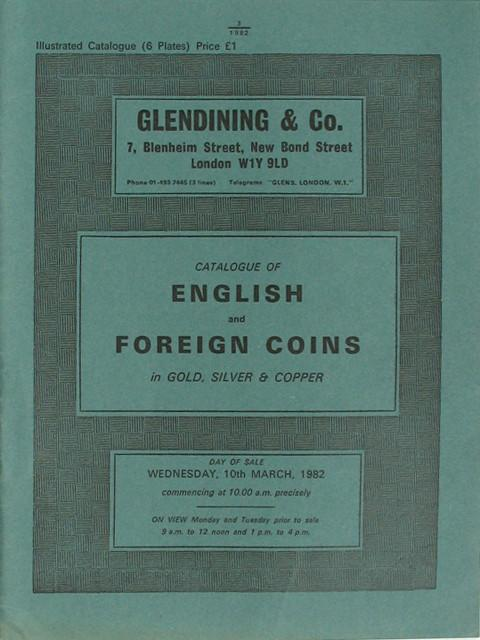 10 Mar, 1982  English and Foreign Coins.