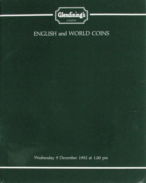9 Dec, 1992 English and world coins