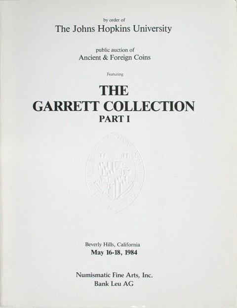 The Garrett Collection, part I