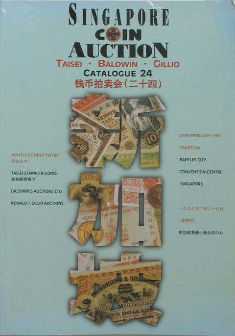 Singapore Coin Auction Catalogue 24.
