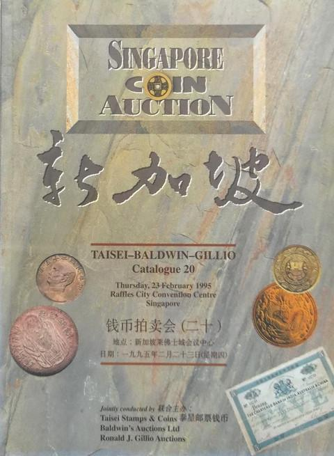 Singapore Coin Auction Catalogue 20.