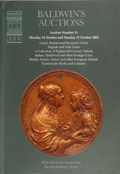 Baldwins Auctions. No 31. 14 Oct 2002.