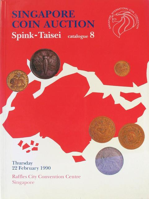 22 Feb, 1990. Spink-Taisei. Auction 8.