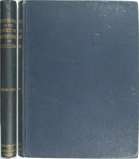 Proceedings of the Society of Antiquaries of Scotland 1940-41.