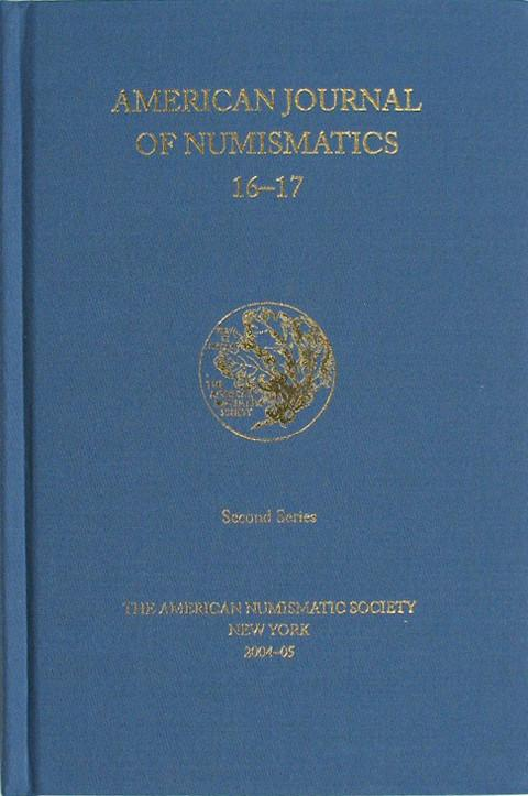 American Journal of Numismatics  Second Series, 16-17