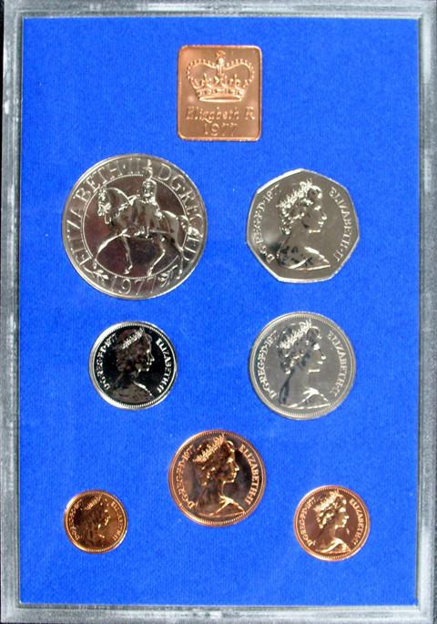 BRITISH Modern coins and proof sets