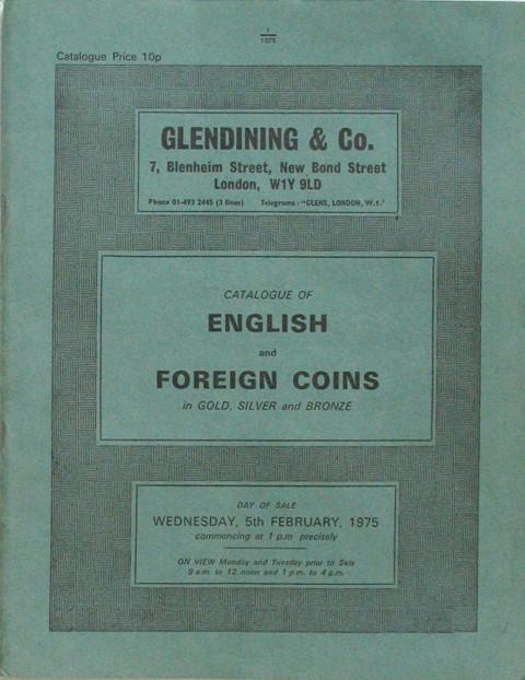 5 Feb, 1975   English and Foreign Coins