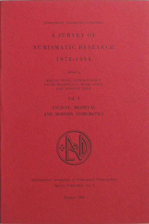 A Survey of Numismatic Research,  1978-1984