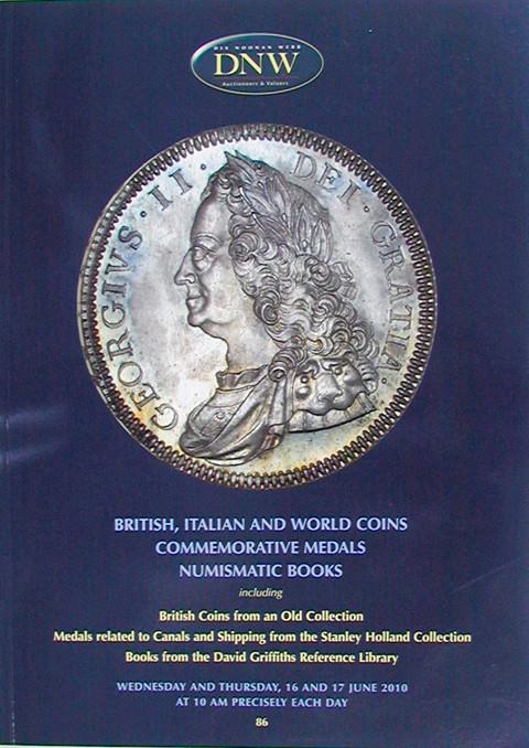 16 Jun, 2010.  DNW 86.  British. Italian and World Coins, etc..