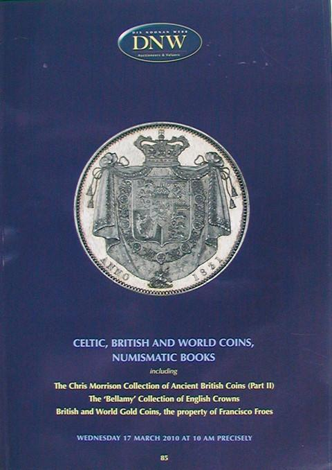 17 Mar, 2010.  DNW 85.  Celtic, British and World Coins, etc..
