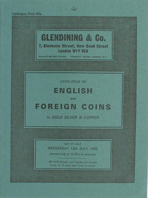 13 Jul, 1983 English and Foreign coins.