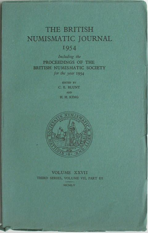 British Numismatic Journal 1954