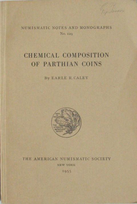 The Chemical Composition of Parthian Coins.