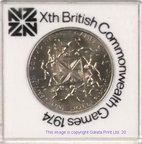 NEW ZEALAND Xth BRITISH COMMONWEALTH GAMES 1974