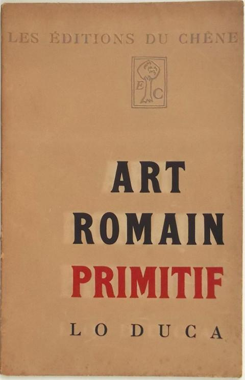 Art Romain Primitif