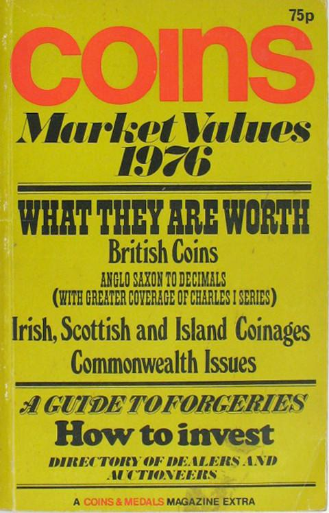 Coins Market Values 1976.