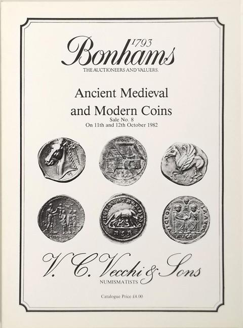 Bonhams - Vecchi Sale 8.  11 Oct, 1982
