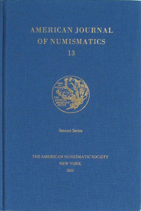 American Journal of Numismatics  Second Series, 13