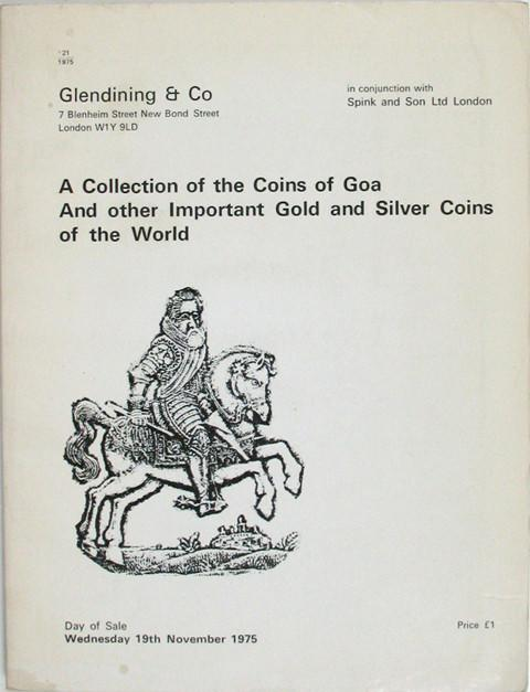 19 Nov, 1975 Coins of Goa