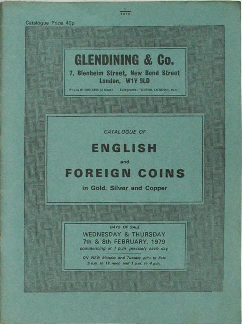 7 Feb, 1979  English and Foreign Coins.