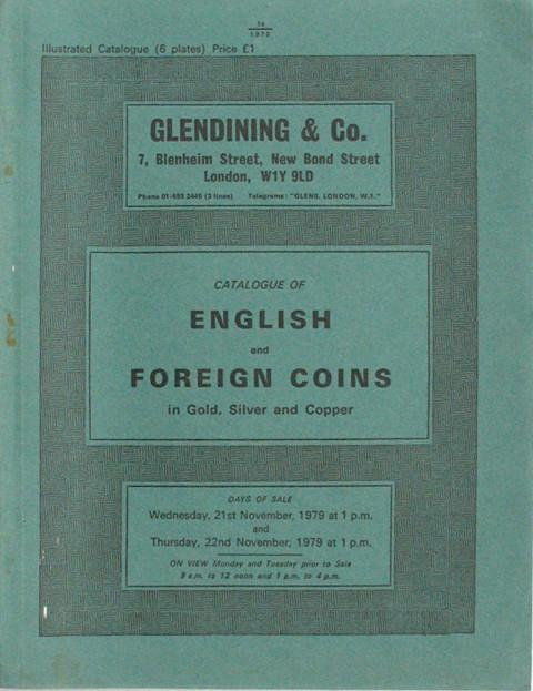 21 Nov, 1979 English and foreign coins.
