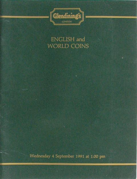 4 Sep, 1991  English and World Coins.