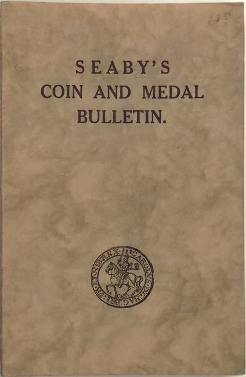 Seaby Coin and Medal Bulletin 1964