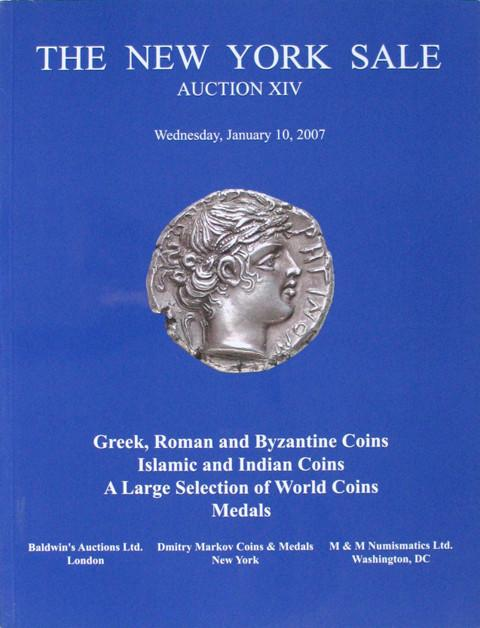 The New York Sale.  Auction XIV. 10 Jan 2007. Ancient and World coins.