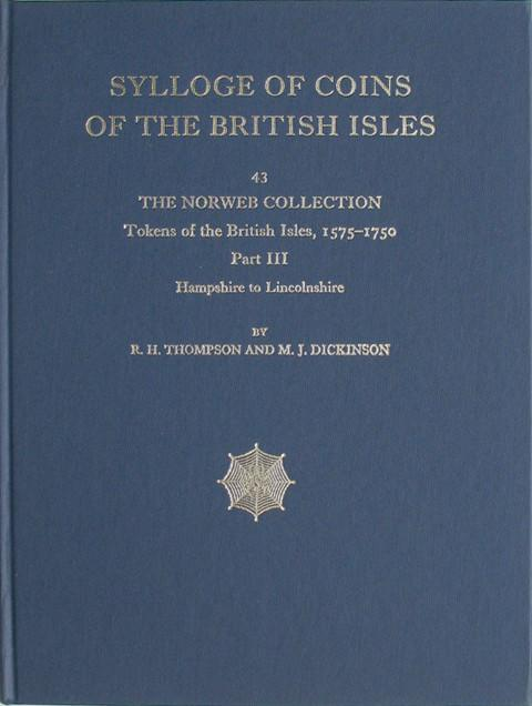 SCBI 43 The Norweb Collection. Tokens of the British Isles. Pt 3  Hampshire to Lincolnshire.
