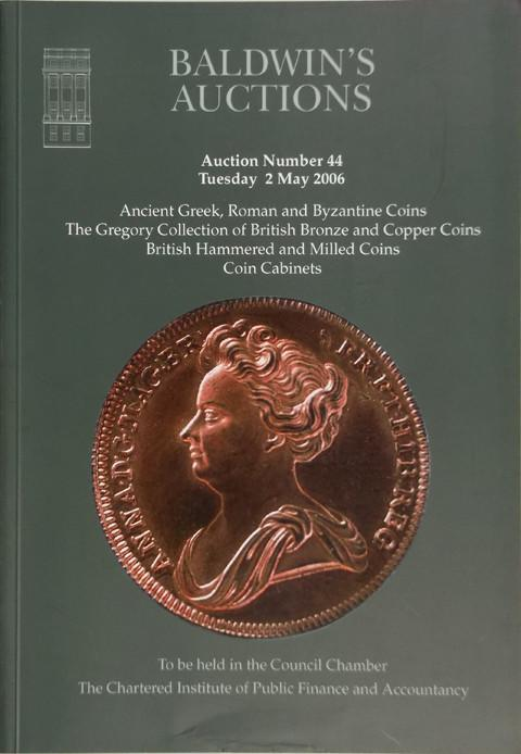 Baldwins Auctions.  No 44. 2 May 2006.  Ancient and British coins, etc.