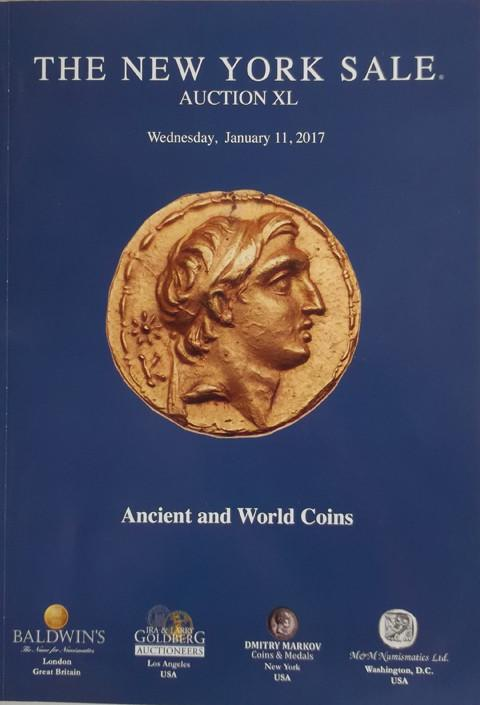 The New York Sale.  Auction XL. 11 Jan 2017. Ancient and World coins