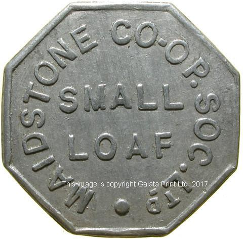 Co-op token, Maidstone (Kent)
