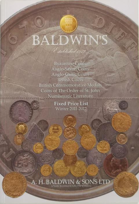 Winter 2011-12.  A H Baldwin & Sons. Coins and Commemorative Medals.
