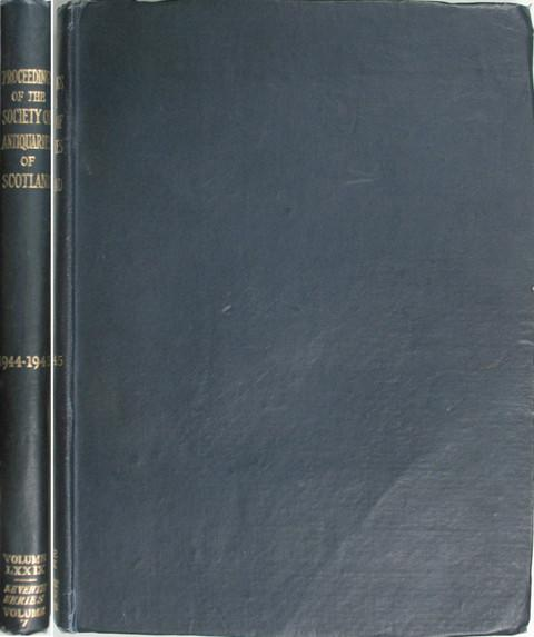 Proceedings of the Society of Antiquaries of Scotland 1944-5.