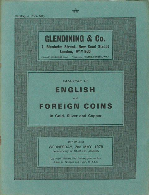 2 May, 1979  English and Foreign Coins.