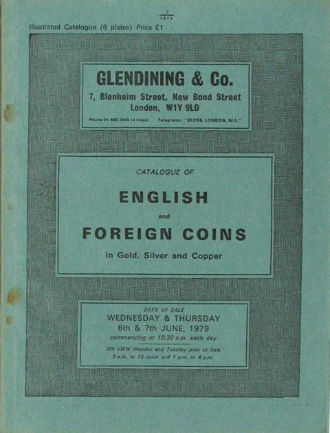 6 Jun, 1979  English and foreign coins.