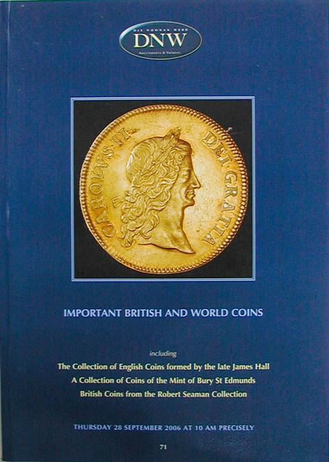 28 Sep, 2006.  DNW 71.  British and World Coins.