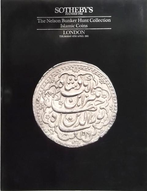 4 Apr, 1991. The Bunker Hunt Collection of Islamic Coins