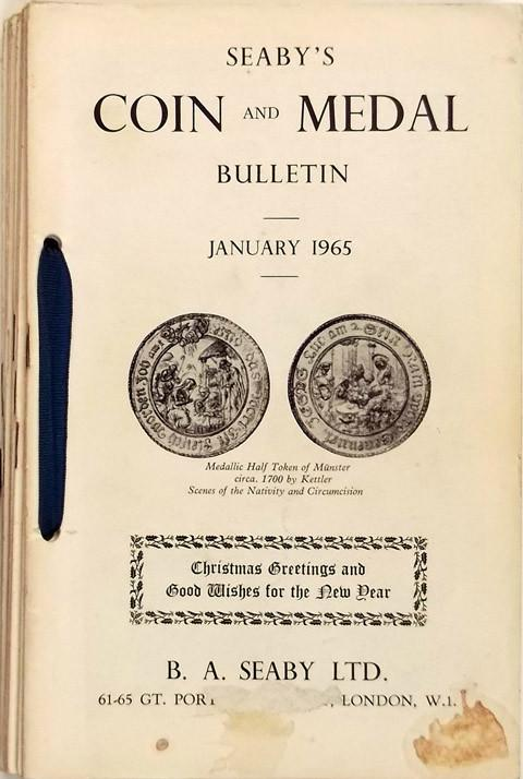 Seaby Coin and Medal Bulletin 1965