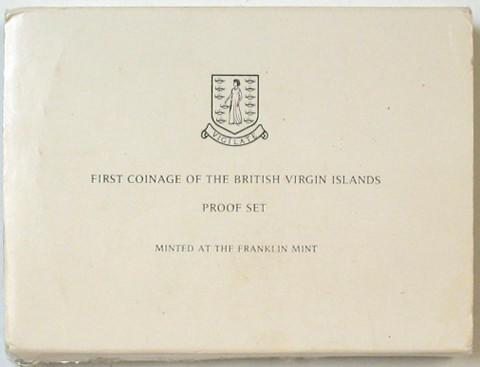 British Virgin Islands.  Proof Set 1973.