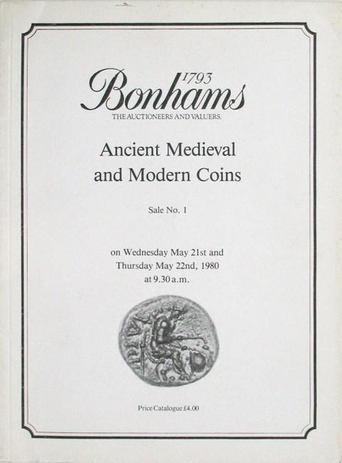 Bonhams - Vecchi Sale 1.  21 May, 1980