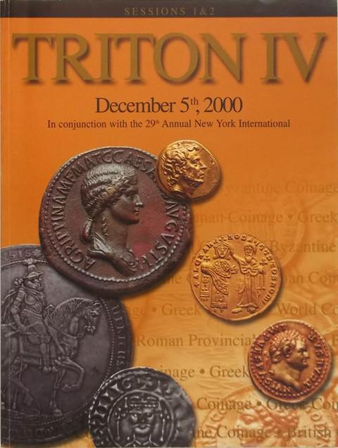 Triton IV. Sessions 1 & 2.  5 Dec. 2000