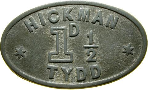 Farm token  Tydd St Giles, Cambs.