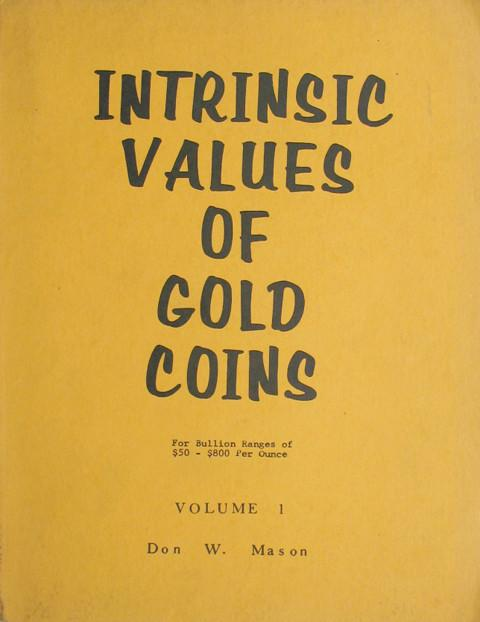 Intrinsic Values of Gold Coins.