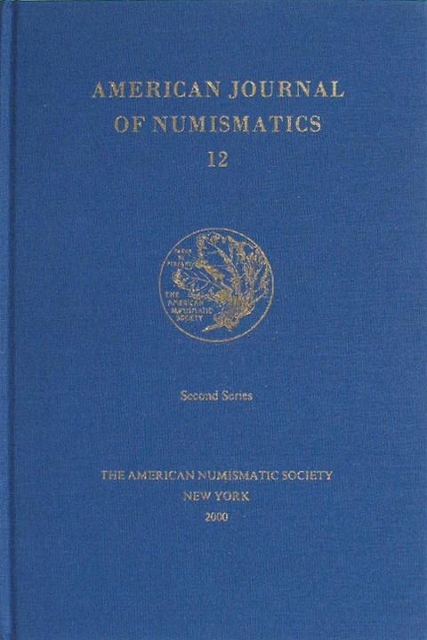 American Journal of Numismatics  Second Series, 12